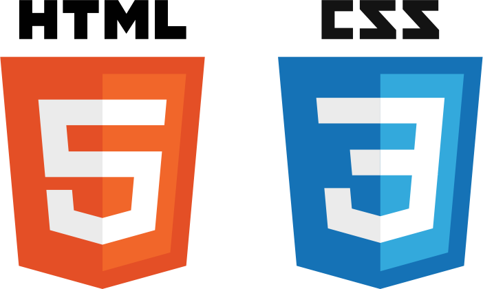 HTML5 and CSS3 badges